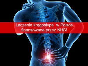 Leczenie kręgosłupa w Polsce finansowane przez NHS